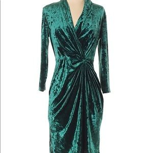 Catherine Malandrino Velvet Dress Sz 4